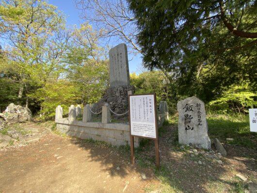 飯野山山頂